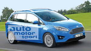 Ford (Grand) C-Max Facelift, Seitenansicht