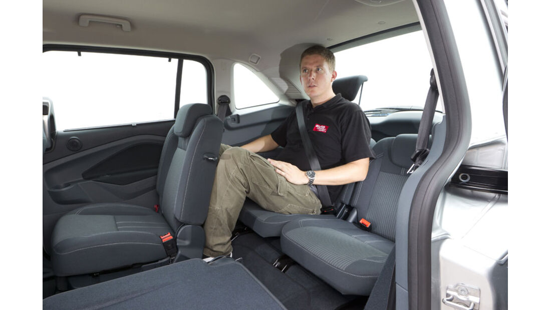 Ford Grand C-Max, Fond, dritte Sitzreihe