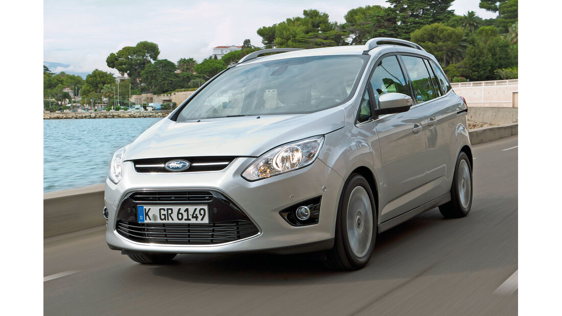 Ford (Grand) C-Max, Frontansicht