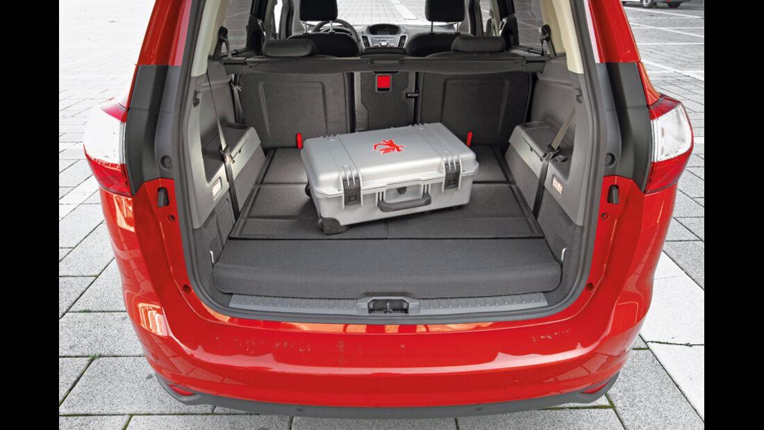 Ford Grand C-Max, Kofferraum