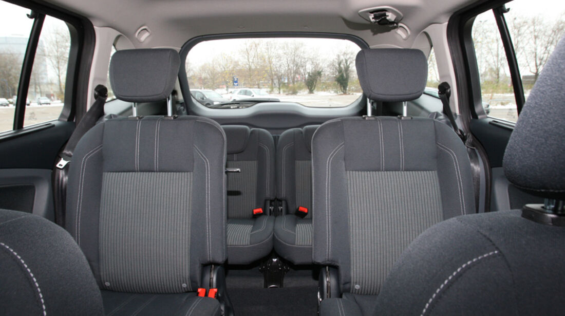 Ford Grand C-Max Rundumsicht