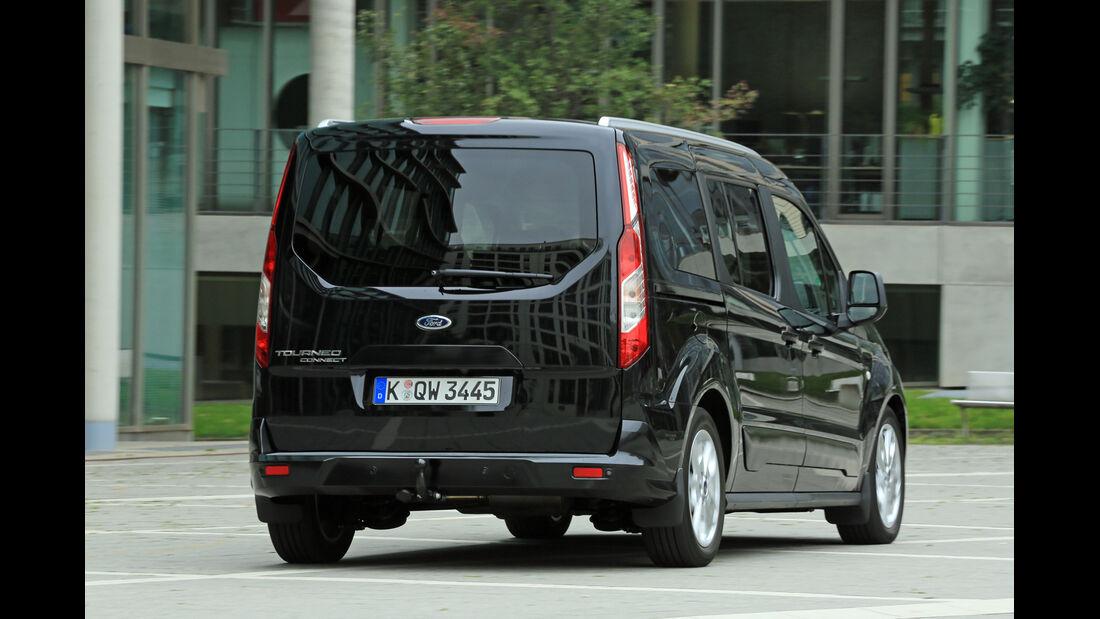 Ford Grand Tourneo 1.6 TDCi, Heckansicht