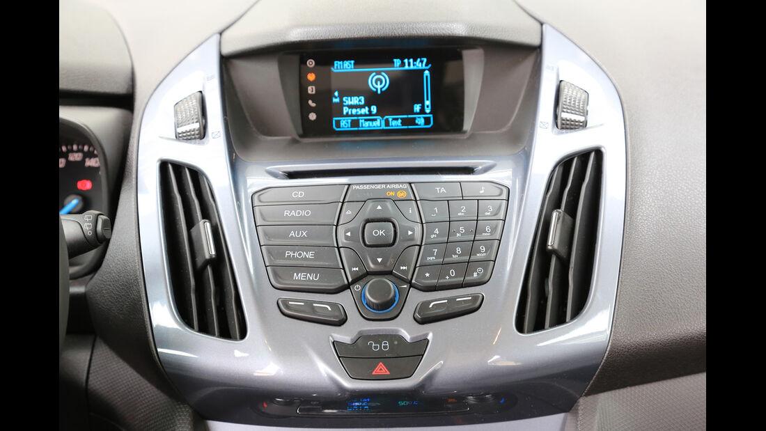 Ford Grand Tourneo 1.6 TDCi, Mittelkonsole