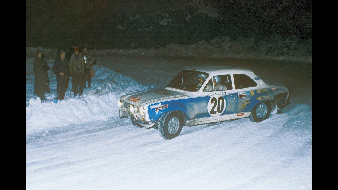 Ford, Hannu Mikkola, Winterrallye