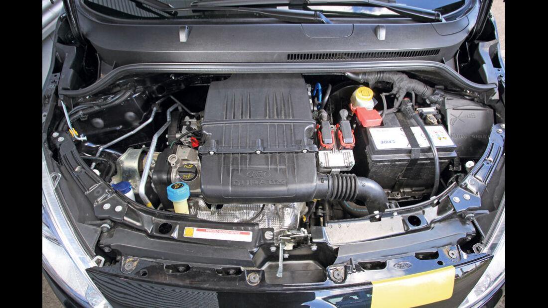Ford KA Titanium, Motor, Motorraum