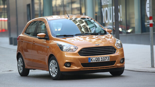 Ford Ka+ 1.2, Frontansicht