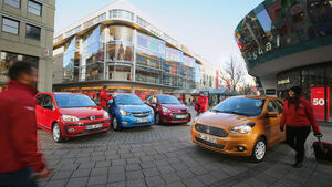Ford Ka+ 1.2, Hyundai i10 1.2, Opel Karl 1.0, VW Up 1.0 TSI
