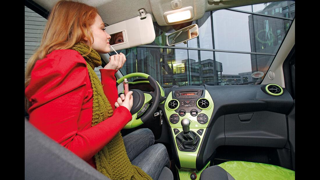 Ford Ka, Cockpit, Innenraum