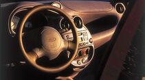 Ford Ka, Cockpit, Lenkrad