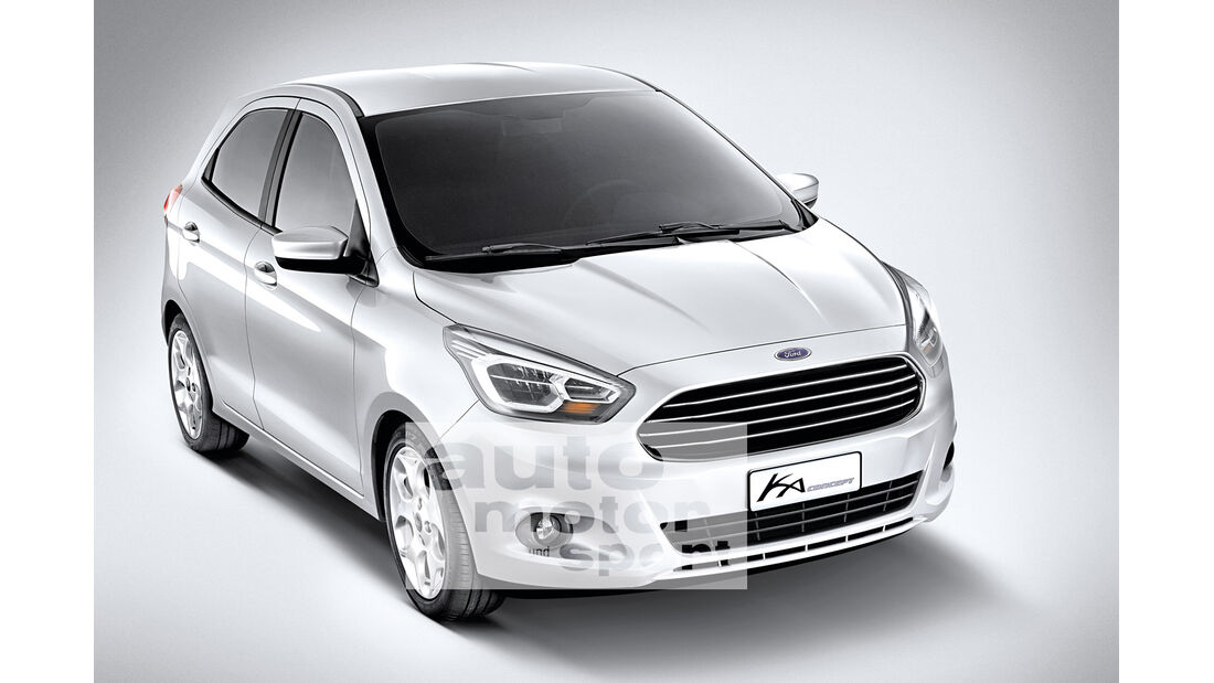 Ford Ka Concept, Frontansicht