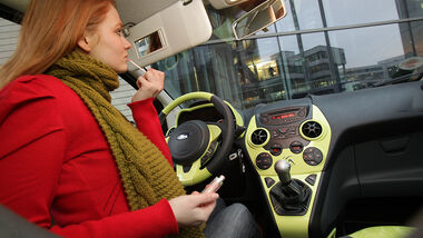 Ford Ka, Innenraum Cockpit