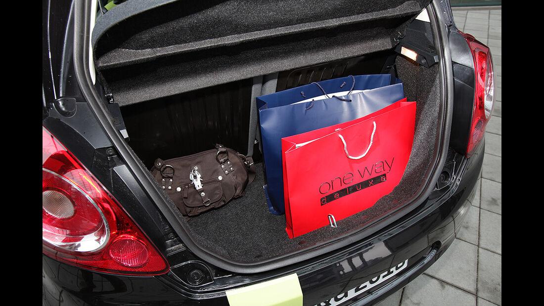 Ford Ka, Kofferraum