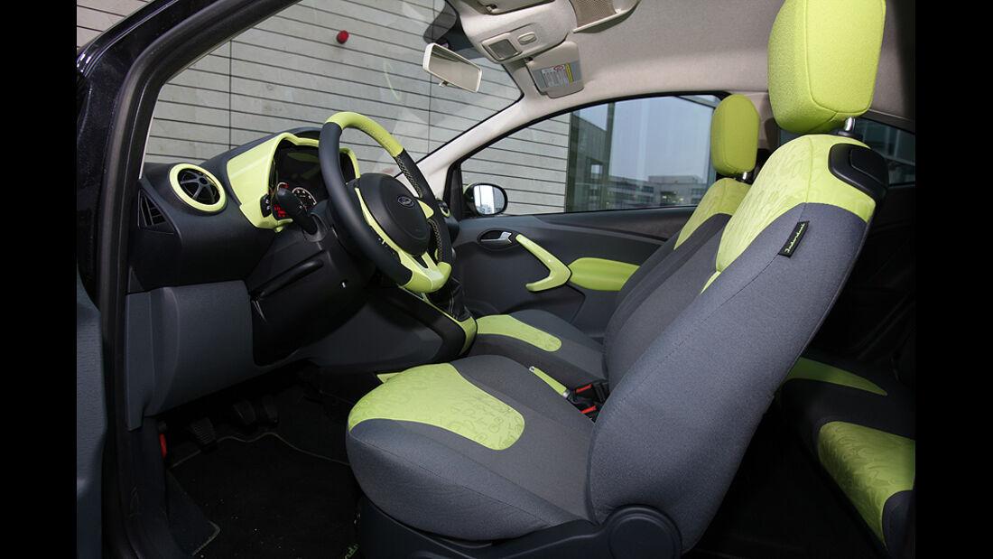 Ford Ka, Sitze
