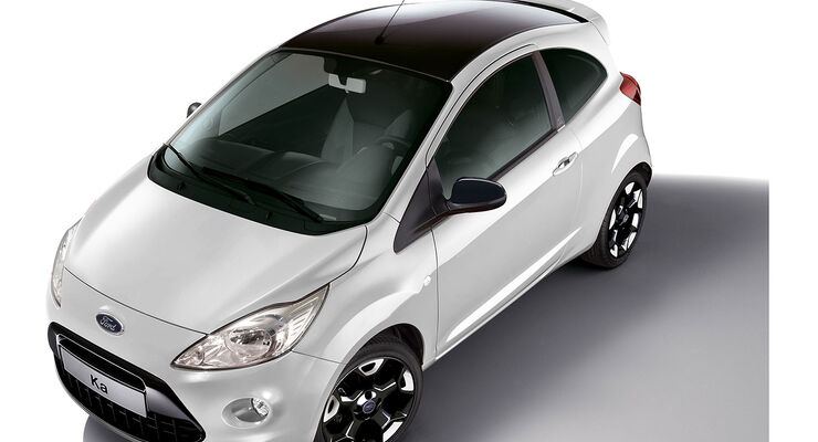 Ford Ka Sondermodell Black White Edition