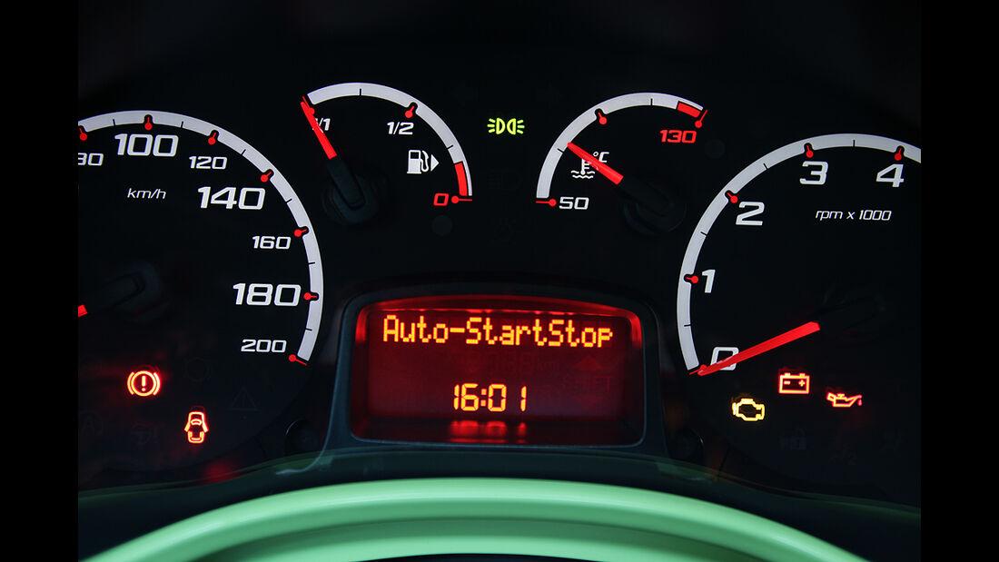 Ford Ka, Tacho, Start-Stopp