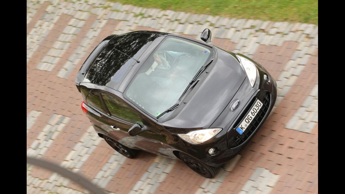 Ford Ka Titanium, Front