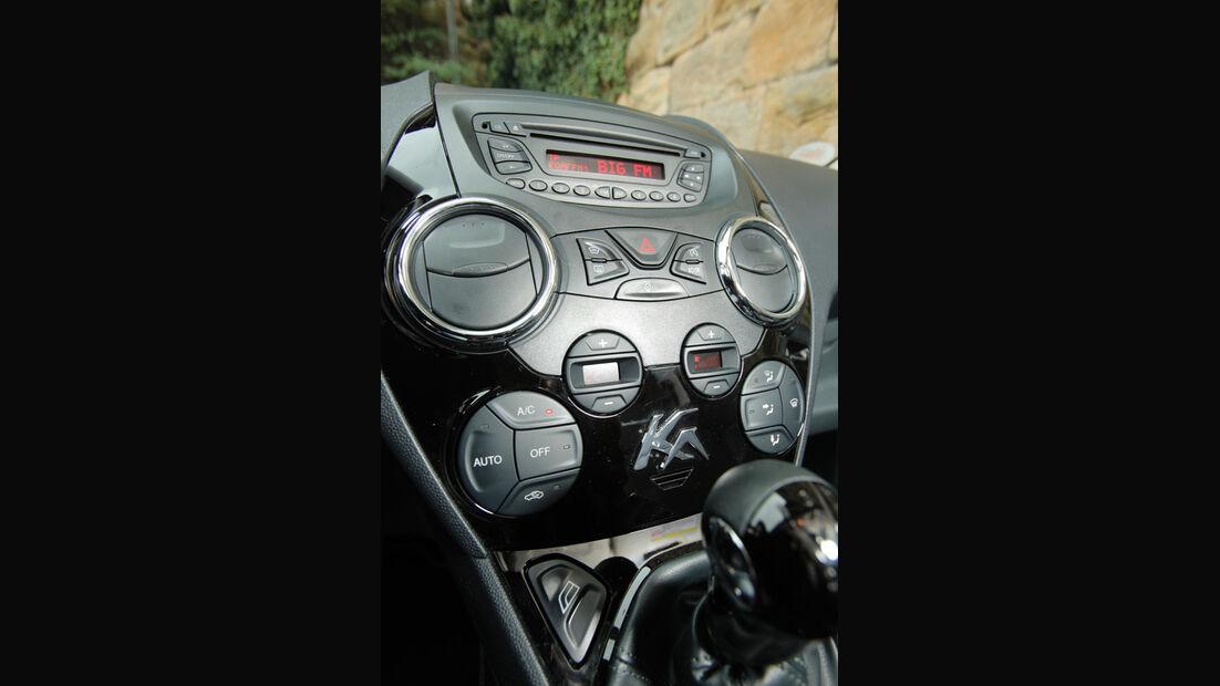 Ford Ka Titanium, Mittelkonsole