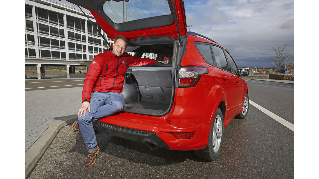 Ford Kuga 1.5 Ecoboost, Kofferraum