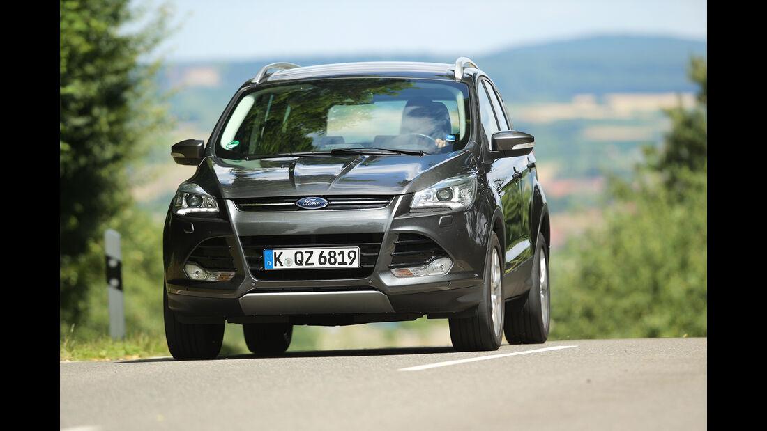 Ford Kuga 2.0 TDCI 4x4 Titanium, AMS1616, Vergleichstest