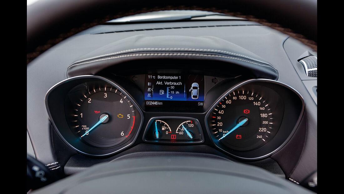 Ford Kuga 2.0 TDCi 4x4, Anzeigeinstrumente