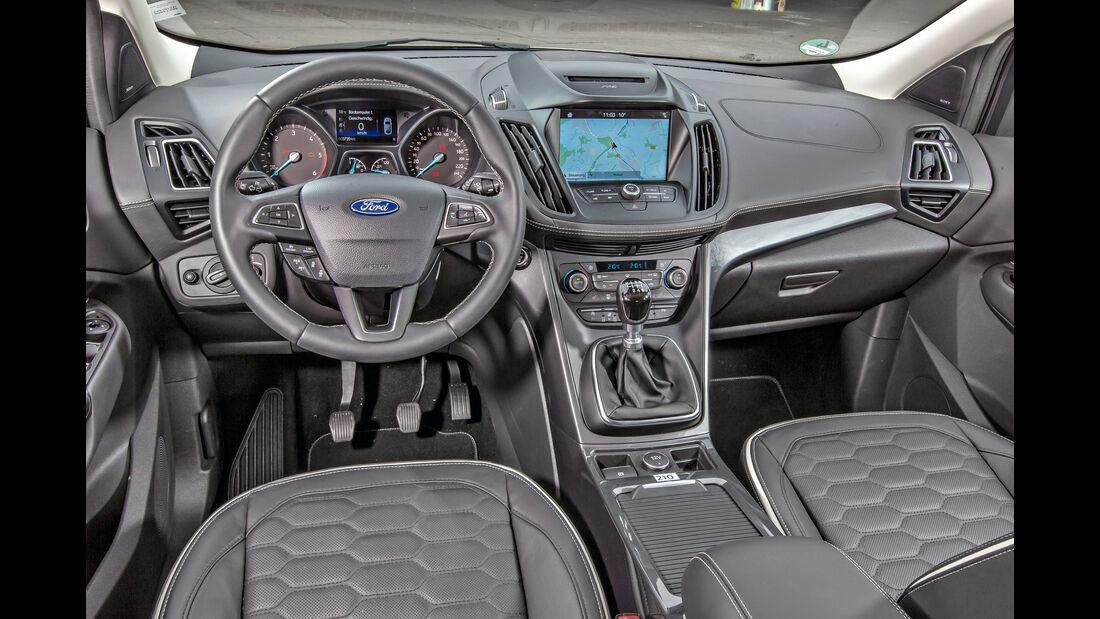 Ford Kuga 2.0 TDCi 4x4, Cockpit