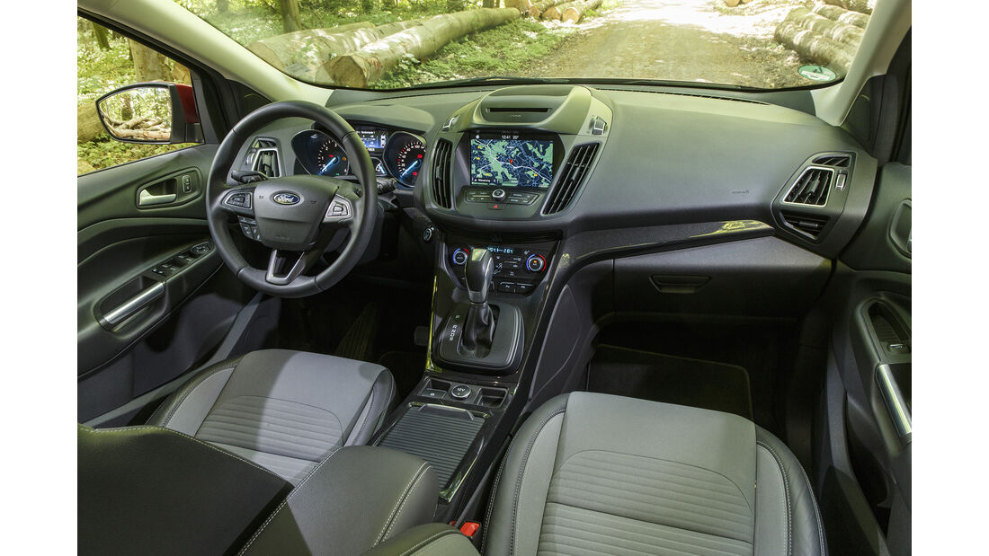 Ford Kuga 2.0 TDCi 4x4 DKG, Interieur
