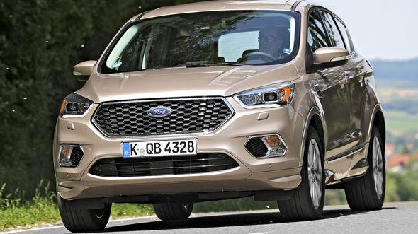 Ford Kuga 2.0 TDCi 4x4, Exterieur