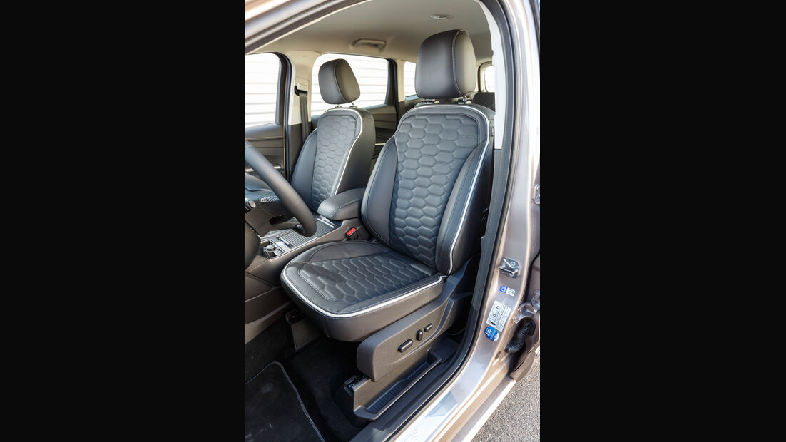 Ford Kuga 2.0 TDCi 4x4, Fahrersitz