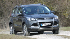 Ford Kuga 2.0 TDCi 4x4, Frontansicht