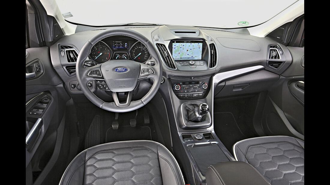 Ford Kuga 2.0 TDCi 4x4, Interieur