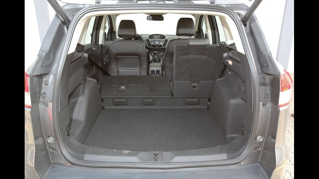 Ford Kuga 2.0 TDCi 4x4, Kofferraum, Ladefläche