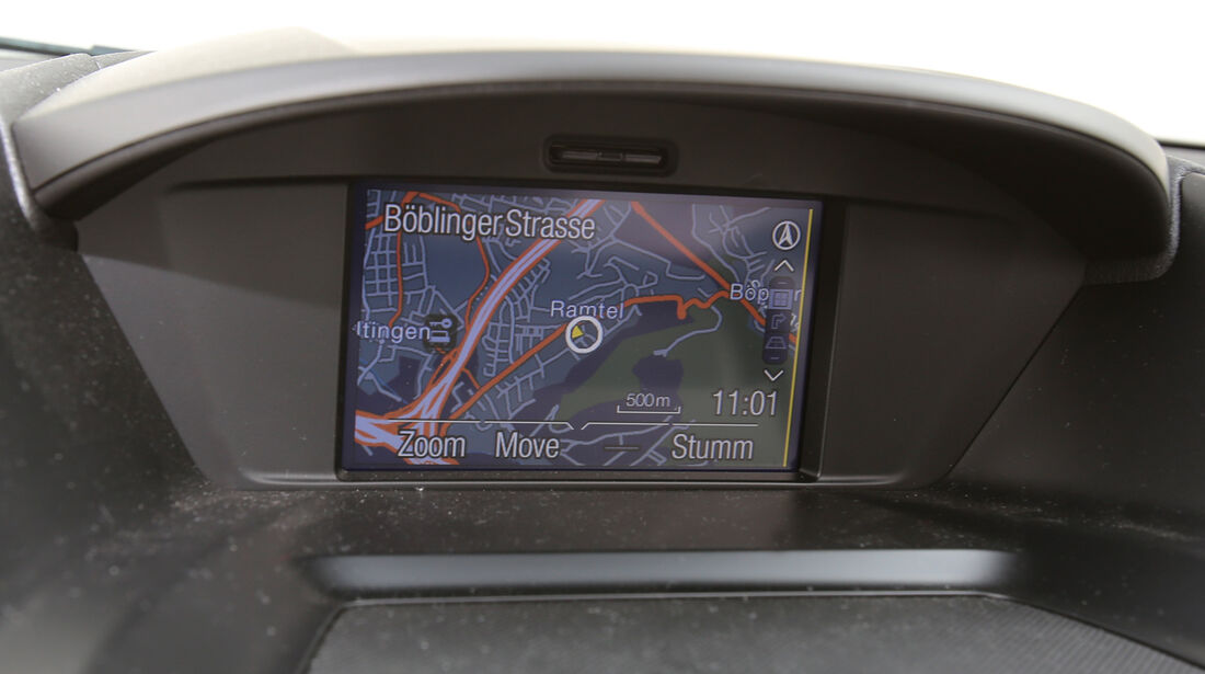 Ford Kuga 2.0 TDCi 4x4, Navi, Bildschirm