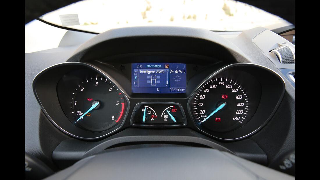 Ford Kuga 2.0 TDCi 4x4, Rundinstrumente