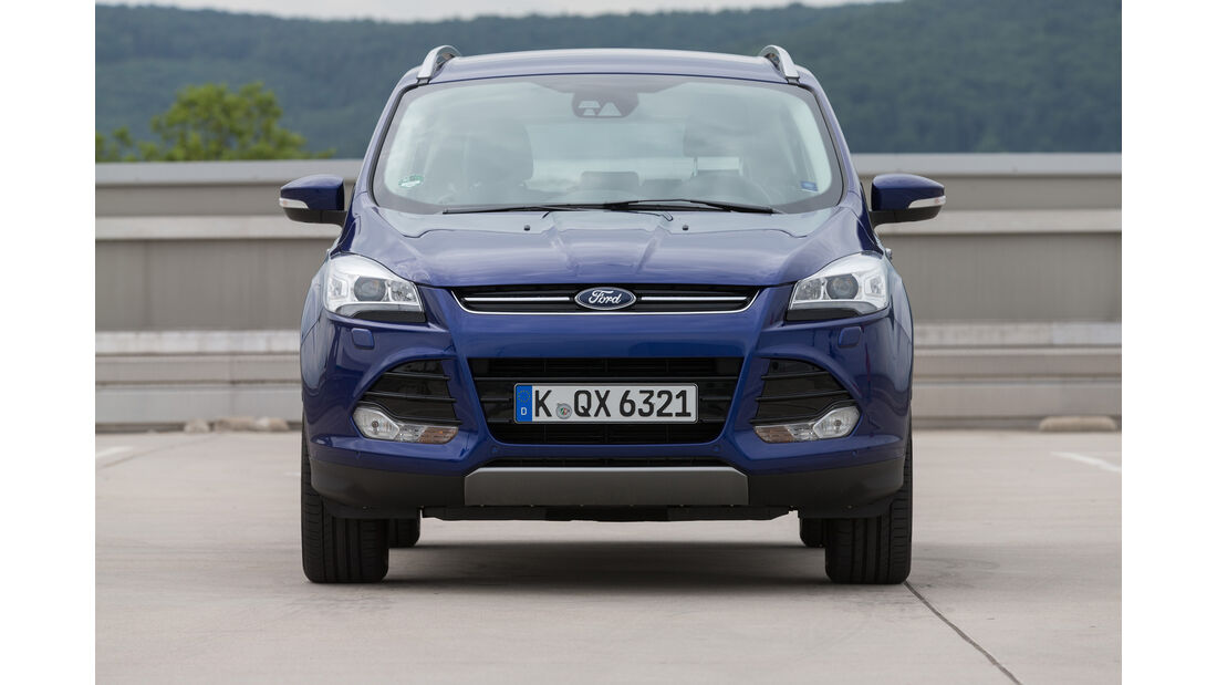 Ford Kuga 4x2 2.0 TDCi, Frontansicht