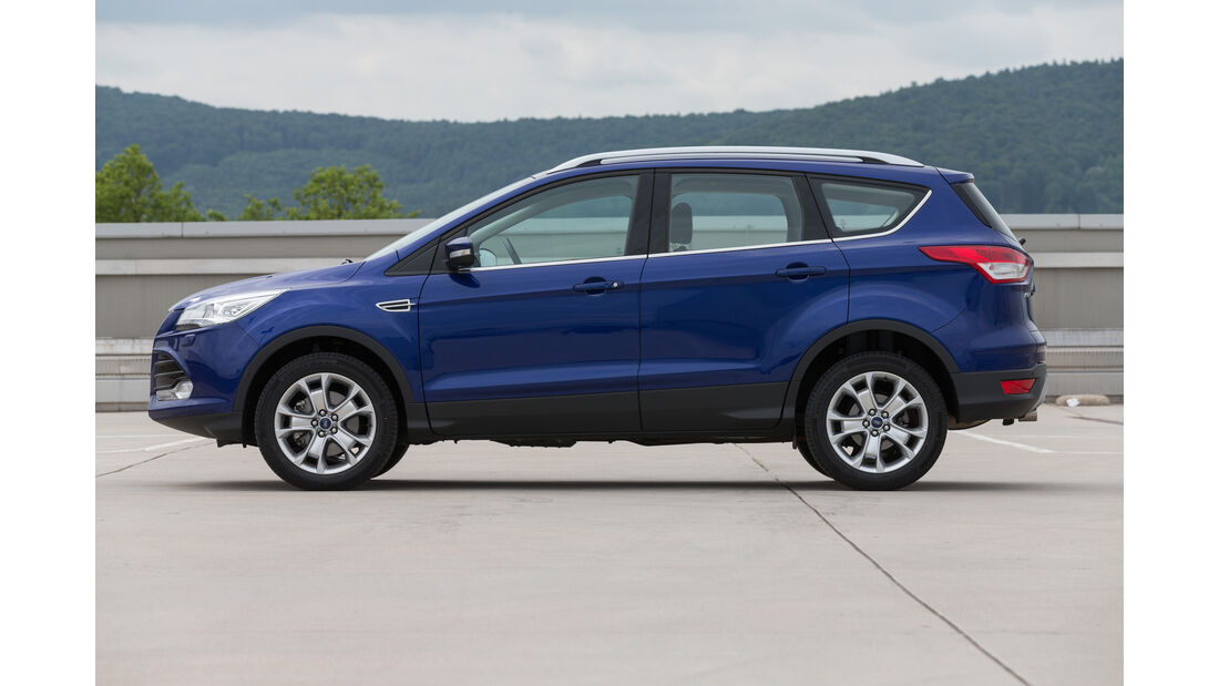 Ford Kuga 4x2 2.0 TDCi, Seitenansicht