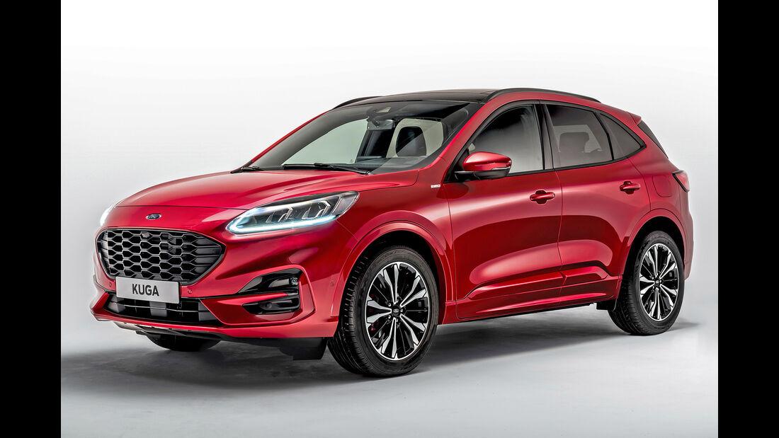 Ford Kuga, Best Cars 2020, Kategorie I Kompakte SUV/Geländewagen