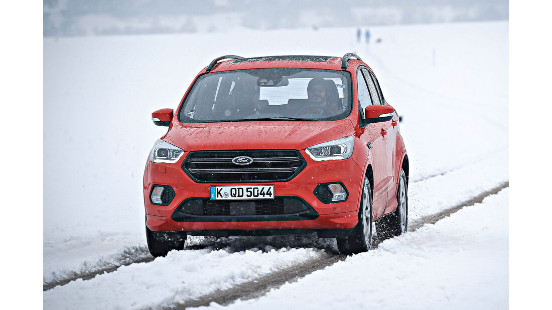 Ford Kuga, Front dynamisch