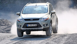 Ford Kuga, Frontansicht