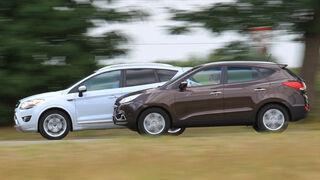 Ford Kuga, Hyundai ix35