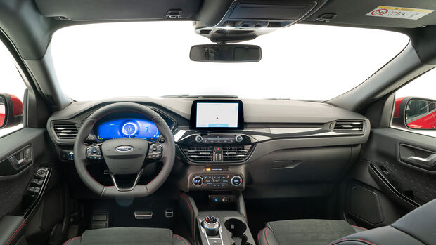 Ford Kuga, Interieur