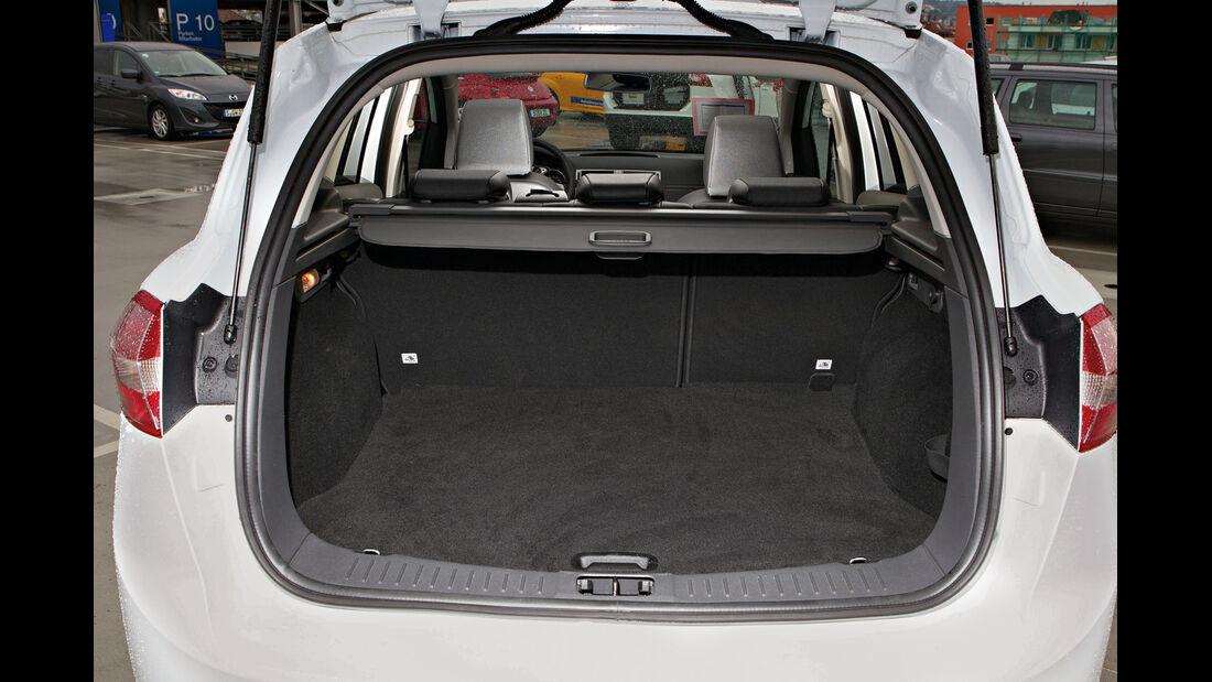 Ford Kuga, Kofferraum