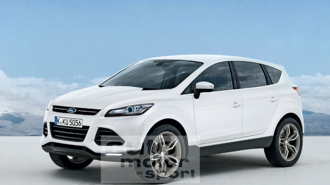 Ford Kuga Retusche