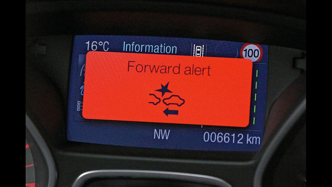 Ford Kuga, Warnzeichen