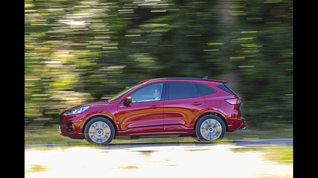 Ford Kugar 2.5 PHEV Top-Test