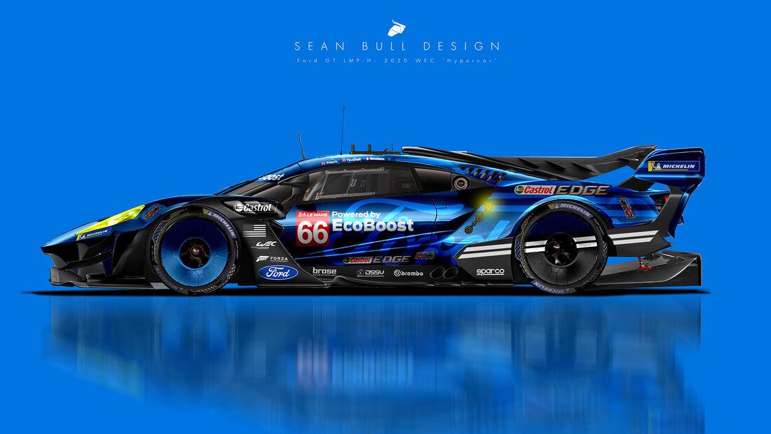 Ford - Le Mans - Protoyp - Concept - Hypercar / LMDh - Sean Bull
