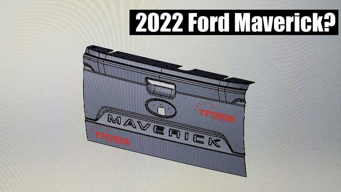 Ford Maverick Heckklappe, 3D-Modell