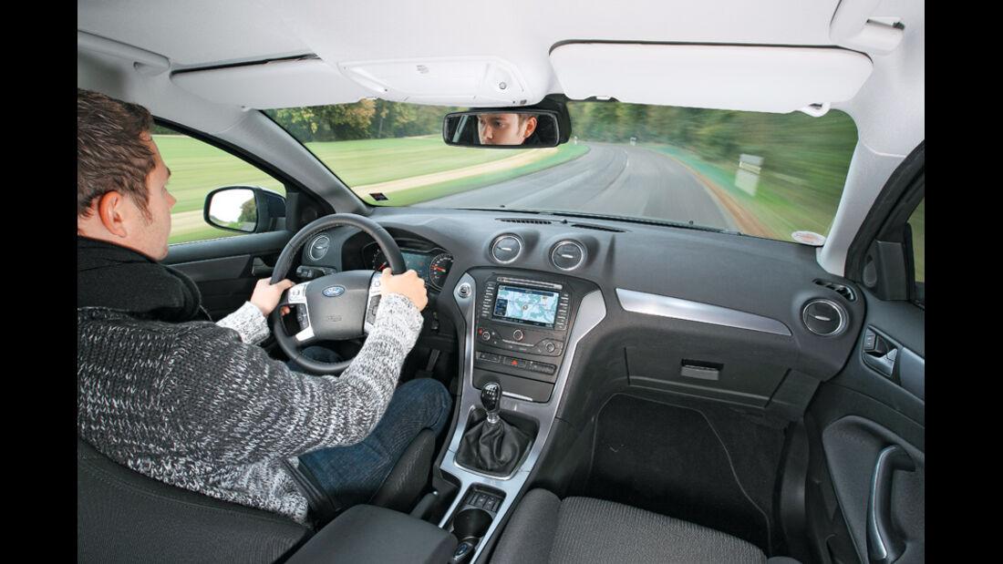 Ford Mondeo 1.6 Ecoboost, Cockpit