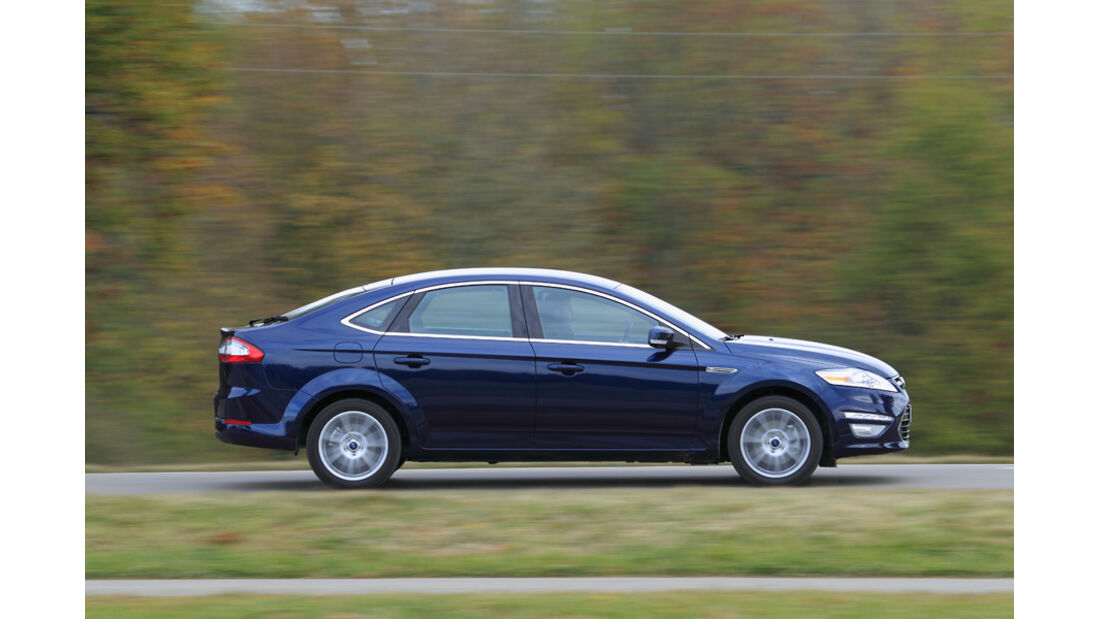Ford Mondeo 1.6 Ecoboost, Mittelkonsole