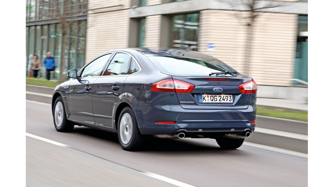 Ford Mondeo 2.0, Heck