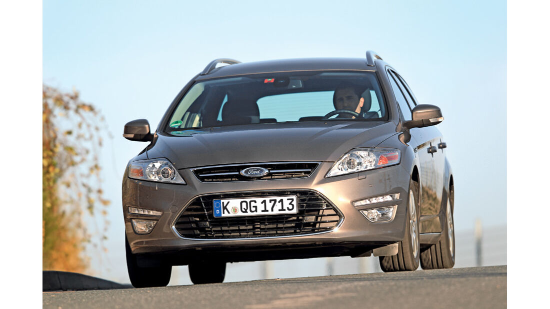 Ford Mondeo 2.0 LPG, Front